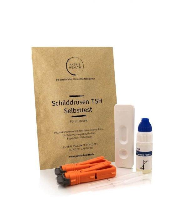 Patris Health - Schilddrusen TSH Selbsttest - Schilddrüsenunterfunktion